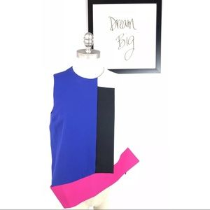 MSGM Milano Black Blouse Made In Italy Size 40